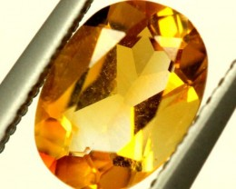CITRINE NATURAL  FACETED HIGH CLARITY  1CTS ADG-772