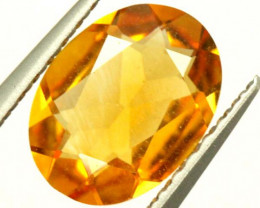 CITRINE NATURAL  FACETED HIGH CLARITY  0.85CTS ADG-650