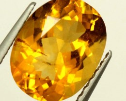 CITRINE NATURAL  FACETED HIGH CLARITY  1.8CTS ADG-601