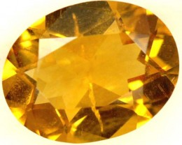 CITRINE NATURAL  FACETED HIGH CLARITY  1.3CTS ADG-658
