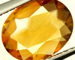 CITRINE NATURAL  FACETED HIGH CLARITY  1.20CTS ADG-656