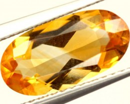 CITRINE NATURAL  FACETED HIGH CLARITY  1.9CTS ADG-613