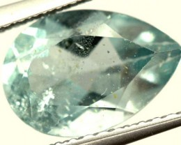 SWISS BLUE TOPAZ FACETED IRRIDATED   2.2 CTS  ADG-739