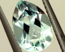 SWISS BLUE TOPAZ FACETED -IRRIDATED- 2.5CTS  ADG-736