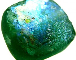 ANCIENT GLASS BEAD  FROM AFGANISTAN-DRILLED 10.20 CTS MX4493