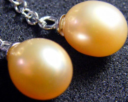 PEARL EARRING PAIR 13.6 CTS [PE025]