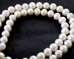 FRESH WATER PEARL STRAND  7-8  MM  159.50 CTS [PF 791]