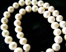 FRESH WATER PEARL STRAND-ROUNDS   9-10  MM  288.00 CTS PF794