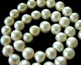 FRESH WATER PEARL STRAND-ROUNDS   9  MM  267.70 CTS [PF801]