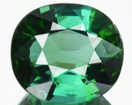 3.29 Cts Natural Bluish Green Tourmaline Cushion Cut Mozambique