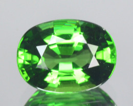 CERTIFIED~ 1.09 Cts Natural Chrome Tourmaline Green Oval Mozambique (Video