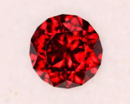 FABULOUS 2.10 Crt Rhodolite Custom Cut Garnet Gemstone