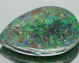 *$15 NR Bidding* Andamooka Rainbow Matrix Opal 16.80Ct