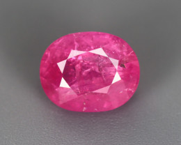 4.23 CT RUBY UNHEATED GIL CERTIFIED 100% NATURAL MINE BURMESE