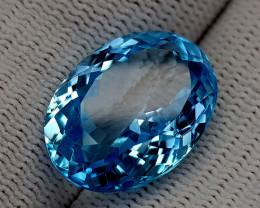 16CT BLUE TOPAZ BEST QUALITY GEMSTONE IIGC71