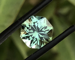 3.40 ct Beautiful Mint Green Tourmaline from Afghanistan
