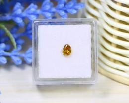 Orange Diamond 0.40Ct Untreated Genuine Fancy Diamond A1025