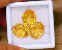 20.41ct Natural Yellow Citrine Fancy Cut Lot GW8898