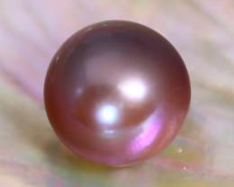 12.0mm 11.56Ct Natural Australian South Sea Purple Color Pearl C1017