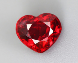 1.870 CT SPINEL BLOOD RED 100% NATURAL UNHEATED BURMESE