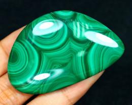 Malachite 175.00Ct Natural Untreated Green Color Malachite B1114