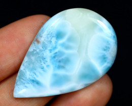 Larimar 36.72Ct Natural Untreated Blue Larimar From Dominican B1126