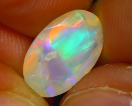 Welo Opal 1.77Ct Natural Ethiopian Faceted Welo Opal D1424/A44