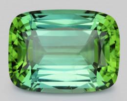 35.23 Cts Gorgeous Beautiful Cut Natural Green Tourmaline Gemstone