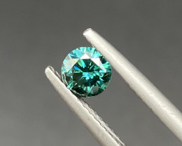 Beautiful Blue Diamond 0.55 Cts  Superb Gemstone