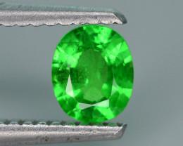 Lovely Cut 0.50 ct Tsavorite Garnet Ring Size
