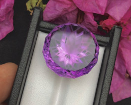 Top Grade 55.80 ct lovely Amethyst Ring Size~M