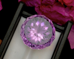 Top Grade 54.20 ct lovely Amethyst Ring Size~M