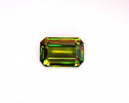 5.75 cts AAA Chrome Sphene Gemstone from Skardu Pakistan