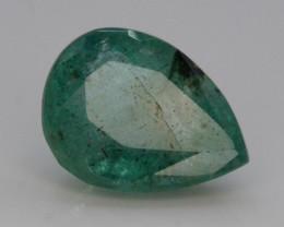 AAA Grade 1.35 Ct Natural Zambian Emerald