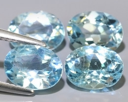 8.60 CTS AWESOME NICE QULITY SWISS BLUE NATURAL TOPAZ~