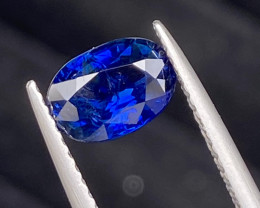 (CERTIFIED) Untreated Natural Royal Blue Sapphire 1.44 Cts