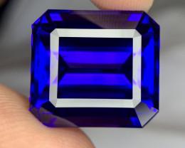 GIA 40999$ certified 40.05 carat Natural Tanzanite gemstone.
