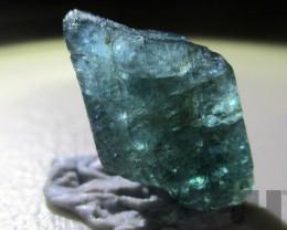 8.25 Crt Rare Natural Madagascar Raw Grandidierite Rough Greenish Blue Natu