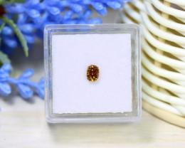 Orange Diamond 0.35Ct NaturalUntreated Genuine Fancy Diamond B1333