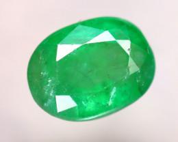 Emerald 2.52Ct Natural Zambia Green Emerald E1521/A38