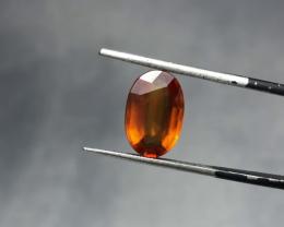 4.10 carats, Natural Hessonite Garnet.