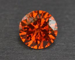 0.70 Carat Natural Fancy Orange Diamond Gemstone