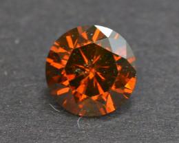 0.40 Carat Natural Fancy Orange Diamond Gemstone