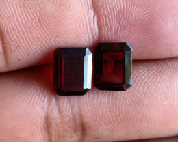 9x7 mm Garnet Pair 100% NATURAL AND UNTREATED VA521