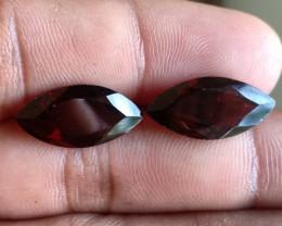 18 x 9 mm Garnet Gemstone 100% NATURAL AND UNTREATED VA532