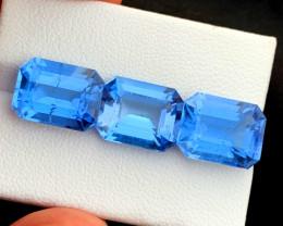 18.15 cts Aquamarine Gemstone , Presenting Collection Grade Classic Santa M