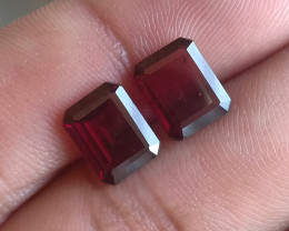 9x7 mm Garnet Pair 100% NATURAL AND UNTREATED VA575