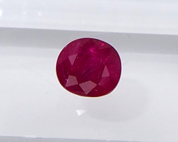 0.8ct Natural Unheated Burma Ruby