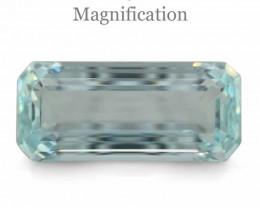 25.96ct Octagonal/Emerald Cut  Aquamarine GIA Certified