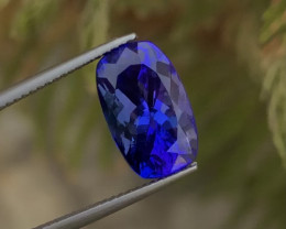 Natural Tanzanite 6.85Ct D Block  Color Top Quality ~ Gorgeous